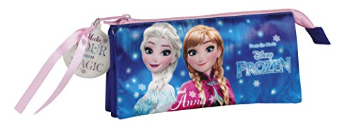Frozen Northen Lights Estuches, 22 cm, Azul
