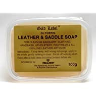 Gold Label Saddle Soap, 100g - Glycerin soap to use for cleaning saddles, clothing, handbags, upholstery, footwear and all genuine leather products.