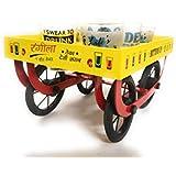 Ek Do Dhai Rangeela Cart With Shot Glass Set, 7-Pieces, 60ml, Multicolour