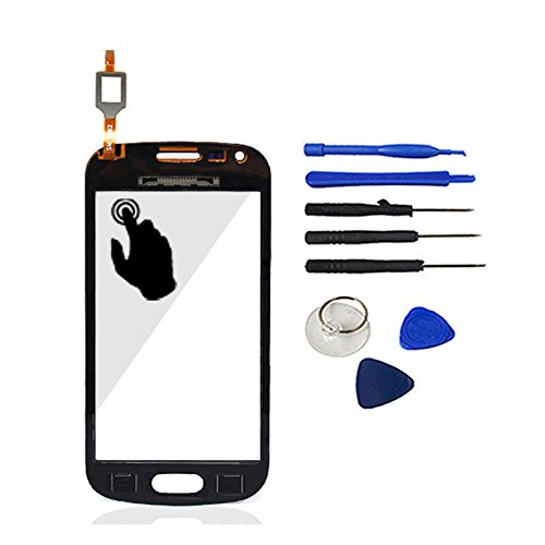 Black Color With Tools Touch Screen Digitizer Glass