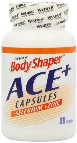 Weider Body Shaper, ACE, 1er Pack (1x 90 Kapseln) - Ace-vitamine