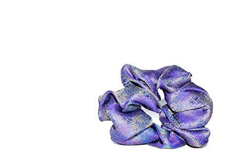 MAZU : Embroidered Silk Scrunchie
