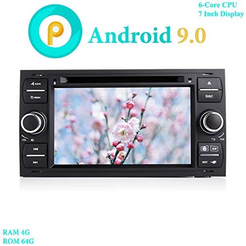 XISEDO Android 9.0 Autoradio 7 Pulgadas In Dash Radio de Coche 6-Core...