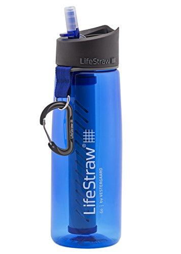 A photograph of LifeStraw Go 2-Stage 0.65L