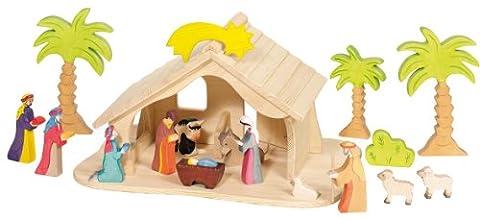 Puppenhaus (nur Puppenhaus mit Sern, ohne Figuren, ohne Baume)