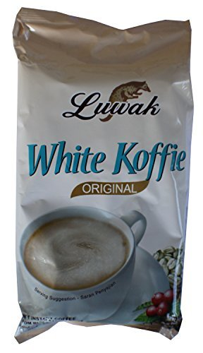 Luwak Brand White Koffie Premium - Café Instantané 10-ct, 200 Grammes