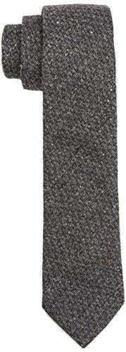 Calvin Klein Navelli Tonal Diagon, Corbata para Hombre, Gris (Medium Grey), única (Talla del Fabricante: OS)