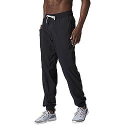Reebok EL Woven C, Pantalon PNT, Homme, Noir, M