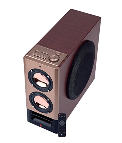 iBall Tarang 2.1 Mini Tower Speakers (Rose Gold)