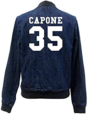 Capone 35 Bomber Chaqueta Girls Jeans Certified Freak