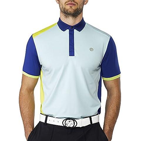 IJP design hard golf t-shirt M Bleu - bleu
