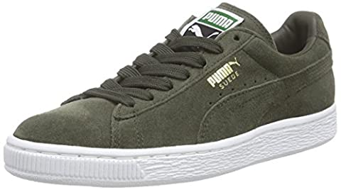 Puma Suede Classic +, Sneakers Basses Homme - Gris (forest Night-white 65), 43 EU