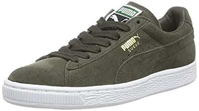 Puma Suede Classic 356568, Sneaker Uomo, Grigio (Forest Night/White 65), 39