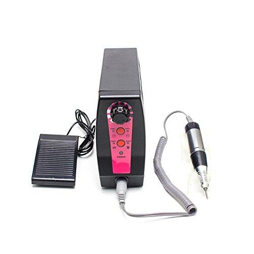 Nagel Schleifmaschine---- Elektrisch NagelfräSer FräSer Nagelfeile ManiküRe Set Plus Und SchleifhüLsen Mit Geringem Rauschen Und Vibration , # mocha brown
