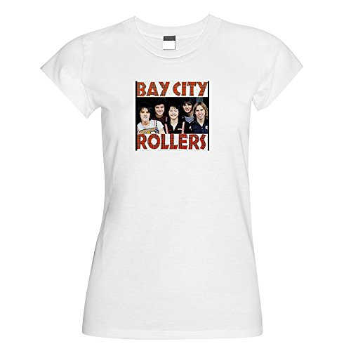 Vintage Magazine Company Damen T-Shirt Weiß