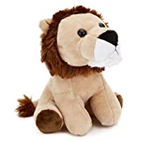 "Zappi Co 6"" Plush Collectible Lion, Soft Cuddly Toy"