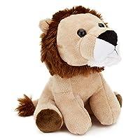 Zappi Co Childrens Stuffed Soft Cuddly Toy Safari Jungle Animal Plush