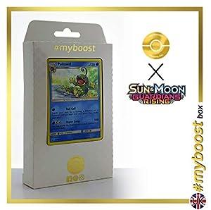 Politoed 25/145 Holo - #myboost X Sun & Moon 2 Gardians Rising - Box de 10 Cartas Pokémon Inglesas