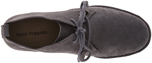 Hush Puppies Cyra Catelyn, Bottes femme Smoke Suede