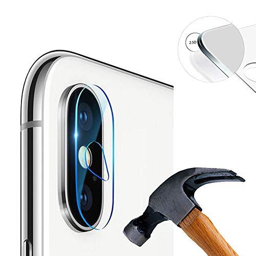 Lusee 2 x Pack Protector Lente Cámara iPhone XS MAX