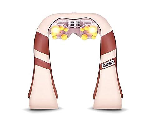 G&M Cervical Massage Châles cou et l'épaule Massager Tapping Beige