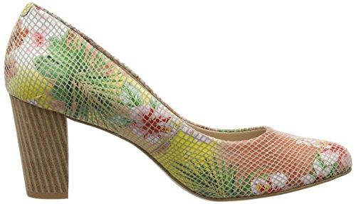 Van Dal Sassy, Escarpins femme Multicolour (tropical Floral)