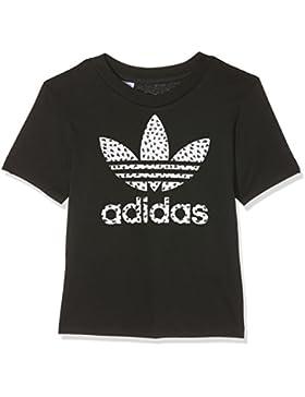 adidas Trefoil Fill–Camiseta niña, niña, Trefoil Fill, negro, 140