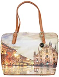 YNOT BORSA DONNA SHOPPING BAG M TRASFORMABILE MILANO SUNSET K-377 0f6bc5c9688