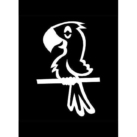 Ufficiale My Stick Figure Family vinile adesivi auto Uccello o Parrott PB1