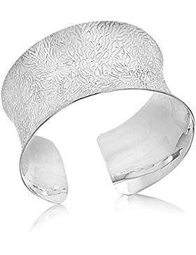 Tuscany Silver Armreif Sterling Silber Gemustert
