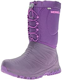 Merrell Snow Quest Waterproof, Zapatos de High Rise Senderismo para Niñas