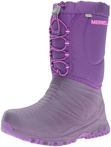Merrell Mädchen Snow Quest Waterproof Trekking- & Wanderhalbschuhe, Pink (Berry), 36 EU Merrell Snow Boots