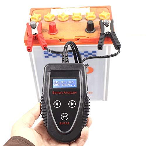 Tester Per Batterie Auto Professionale,Tester Per Batterie Gel,Tester batteria auto,tester batteria,durata,strumento di misurazione della resistenza interna CCA,giudicare la batteria buona o cattiva,A