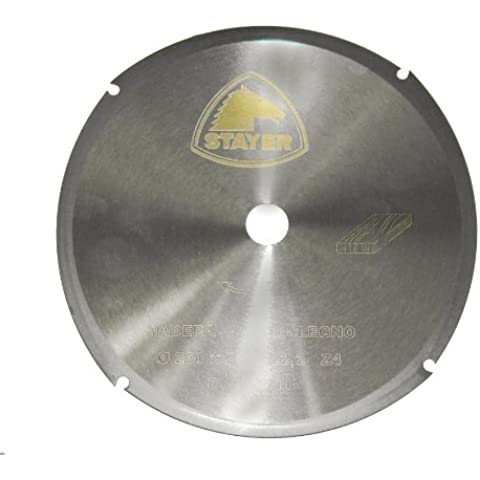 Stayer - Disco metal corte madera 115x2x22 Z/4