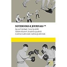 Carnet Quadrillé A6 Notebooks & Journals, Boxe (Collection Vintage), Pocket: Couverture souple (10.16 x 15.24 cm)(Carnet de Notes, Carnet de Voyage, Cahier de Texte)