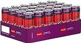 Coca-Cola Zero Sugar Cherry/Fruchtiges Erfrischungsgetränk ohne Zucker in coolen Dosen mit originalen Kirschgeschmack / 24 x 330 ml Einweg Dose, 7920 ml