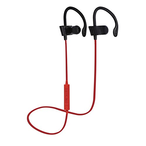 iends Bluetooth-Kopfhörer In-Ear-Kopfhörer Stereo Headset Wireless Sport Ohrhörer mit Mikrofon rot Over-ear Hands Free-headset