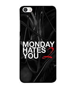 PrintVisa Designer Back Case Cover for Redmi Mi5 (why the hell Monday comes)