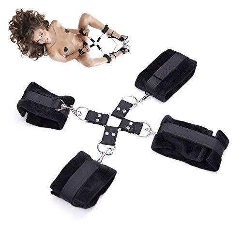 PURELOVEE Sex Handschellen Fußfesseln Bondage Slave Restraint Games für Frauen Erwachsene Sex Toys Produkte Erotik Kostüme Accessoires