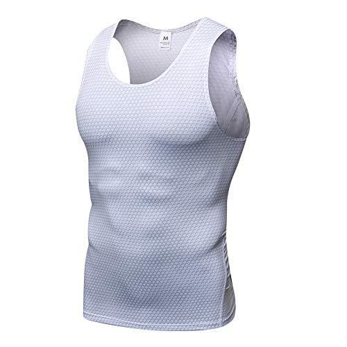 LaoZanA Camiseta De Compresión Sin Mangas Hombre