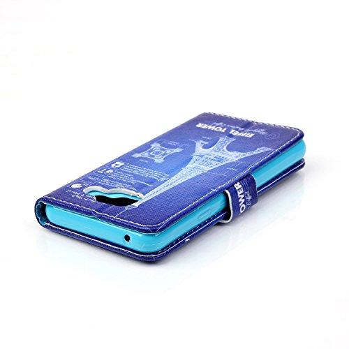 Portefeuille Housse Coque Cuir pour Apple iPhone 5 5SE - Yihya Luxe Ultra Slim Joli Motif Design PU Leather Flip Wallet Case Cover Etui avec Fente Carte + Stylus - Style 10 Style 04