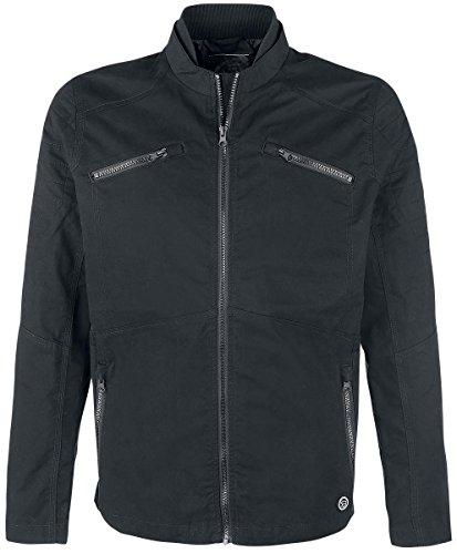 R.E.D. by EMP Light Cotton Jacket Giacca nero XXL