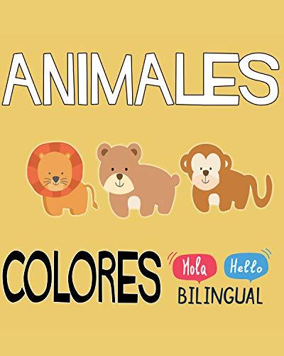 Descargar Animales De Colores (Español / Ingles): Aprende los colores y los nombres de los animales. PDF Gratis