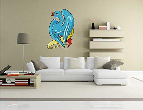 Wandtattoo Misc2-Birds8 – Lustige Bunte Vögel – Wandaufkleber