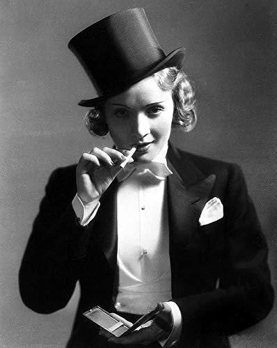 Rahmen-Kunst Keilrahmen-Bild - Hollywood Photo Archive: Marlene Dietrich VI Leinwandbild Stars Film Kino (Stars Kino 6)