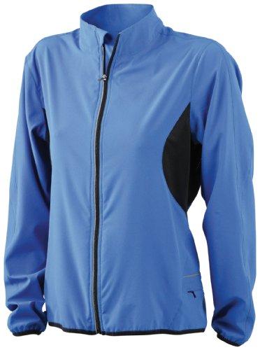 &james nicholson veste de course pour femme Bleu (royal/black)