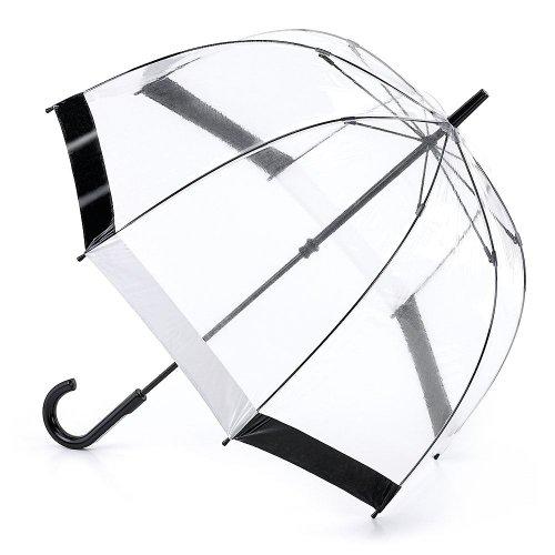 fulton-birdcage-1-ombrello-chiaro-cupola-con-bordo-bianco-e-nero