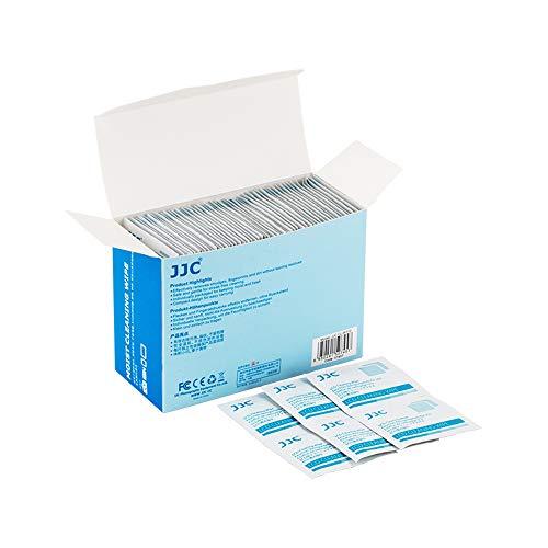 JJC Mehrzweck Reinigungstücher für Kameras, Objektive, Filter, Sonnenbrillen, Handys und Tablet-Bildschirme usw. Reinigung Empfindlicher Oberflächen - 110er Pack