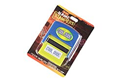 Name Stampers Cool Dude Rubber Stamps