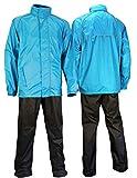 Ralka Regenanzug Komfort für Erwachsene, Blau Anthrazit, XXL